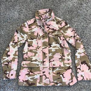 Love Tree pink camo jacket